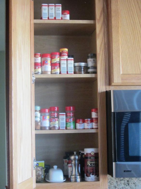 Spice cabinet, check!