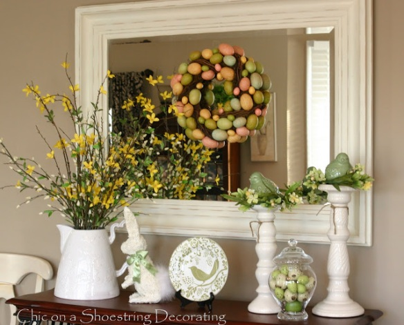 Photo courtesy of Chic on a Shoestring Decorating