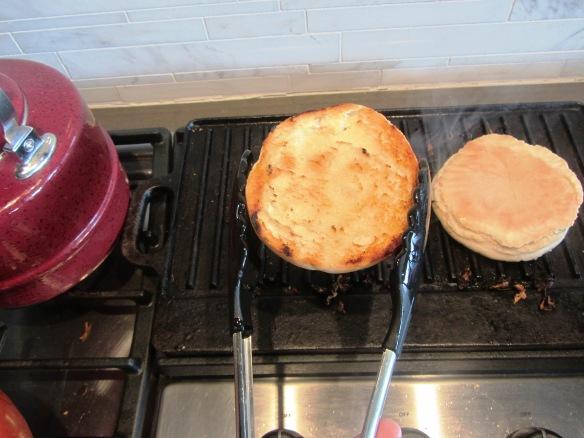 Toast those suckers.