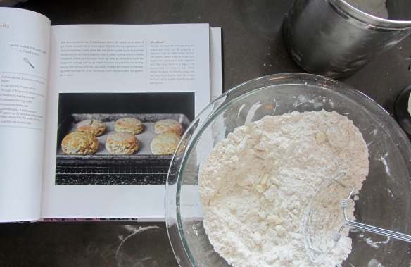 Use a pastry cutter to combine until the mixture resembles coarse meal.