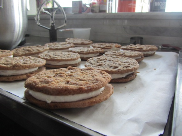 Hooray for Oatmeal Cream Pies!