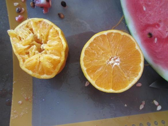 Orange...check!