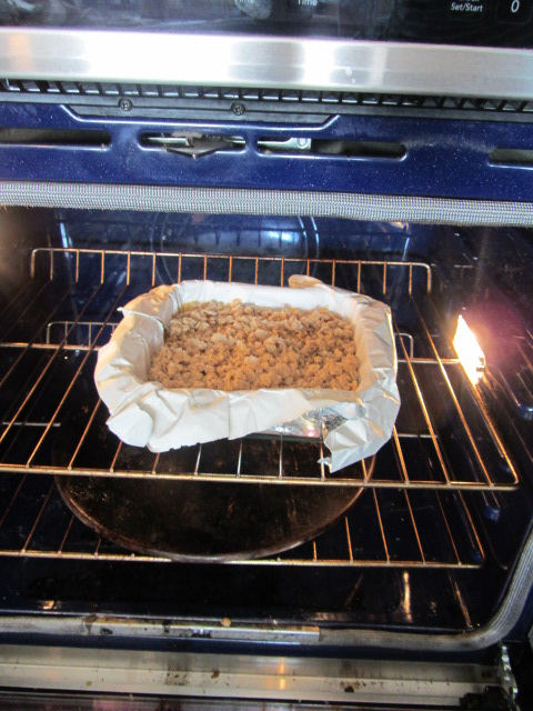Return to the oven to bake for an additional 20-25 minutes.