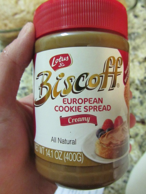 Cookie Butter.  The best.  I used Biscoff Cookie Spread (I found it at Target).  There are also other brands of Cookie Butter out there.