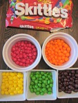 Sort the Skittles by color.  The OCD in me loved this step :)