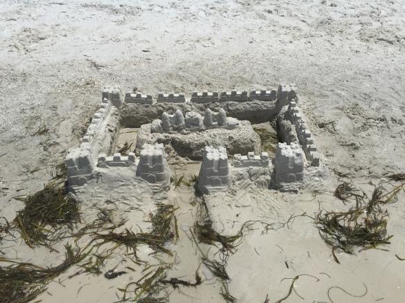 Sandcastle Sunday.