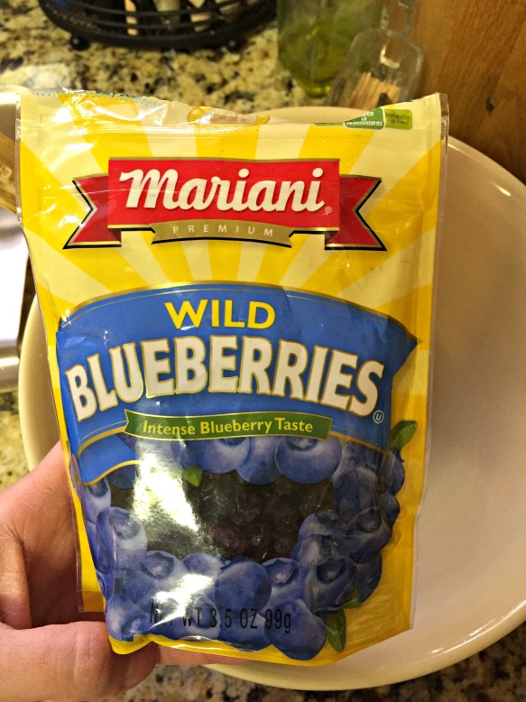 These are the dried blueberries that I used.